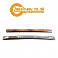 Mk1 Golf Polished Stainless Steel Series 1 Bumpers